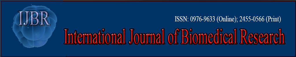International Journal of Biomedical Research